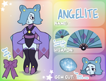 Gems Of Earth Application: Angelite by Merimutt