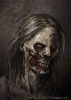 Zombie 02 by ogilvie
