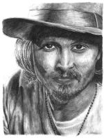 Johnny Depp by ThePotatoStabber
