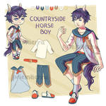 [OPEN] Countryside Horse Boy Set Price by Priemtierra
