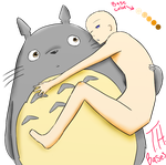(2) Totoro and OC base by TH-Bases