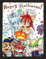A Very Chaotic Halloween by Mystical-Kaba