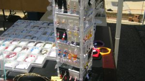 earrings and bracelets by CrazyCousins