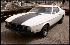 1973 Ford Mustang Grande by compaan-art