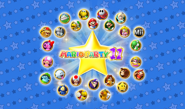 Mario Party 11 by Zieghost