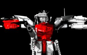 Gundam Robot Thingy by TheColorCute