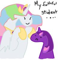 My faithful Student.... by pixiebellecosplay