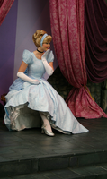 One slipper remained... by DisneyLizzi