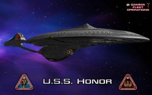 USS Honor by unusualsuspex
