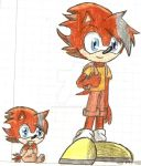 Baby and Kid Scott by MrSoniccloud