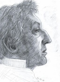 Gainsbourg You're Under Arrest by Coulissart