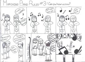 Marching Band Rules 3: Can you hear us now? by Penguinangel2