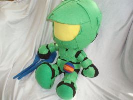 Master Chief Plushie by mariosonic
