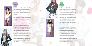 CD Booklet Jessica - YoonA pgs by Steve-ish