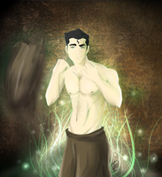 Legend of Korra: Bolin of the Fire Ferrets by NipahCos