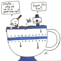 C and B - Giant Tea Cup by UNlucky0013