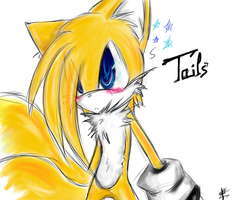 _. Tails ._ by X-Sunburn-Blood-X