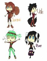 Chibis chibis 66% by Blue-Fire-likes-pie