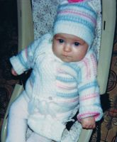 Jacket and cap for baby by ToveAnita