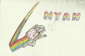Nyan Cat by Otheerian408