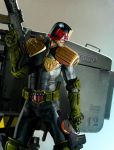 judge dredd guns by ryanbrown-colour
