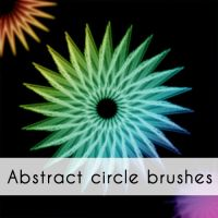 Abstract circle brushes by emperorwarion
