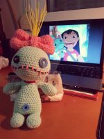 Scrump the Amigurumi Doll by Nouko-chan