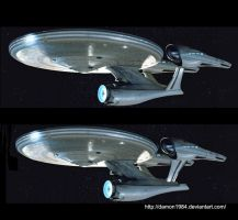 The new... old Enterprise by Damon1984