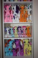 My Little Pony - Complete TY Collection - Plushies by MadDoggyca