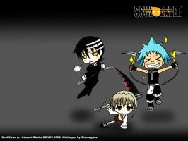 soul eater wall 1 by Otamegane