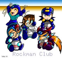 Chibi Rockman Club by digitallyfanged