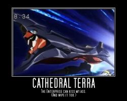 Cathedral Terra Motiv. Poster by NewMystery356