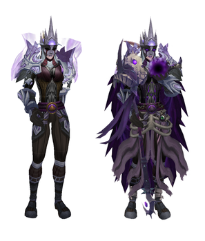 Before and After - Necromancer by RaikuFordrace