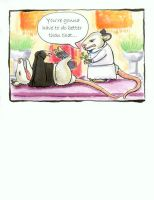 opossum wedding card by anillennium