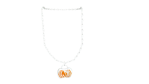 MMD Pumpkin Necklace by mbarnesMMD