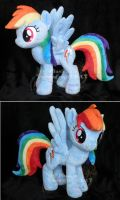 Rainbow Dash v2 by hystree