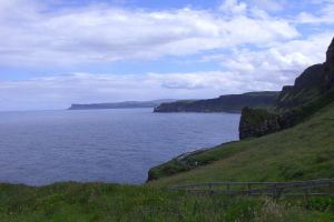 The cliffs go on and on by ainoani