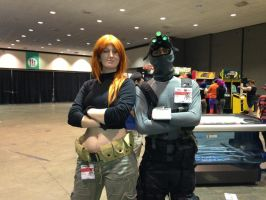 Sam Fisher meets Kim Possible by W4RH0US3
