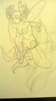 Sylph WIP by Gods-black-wings