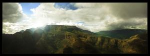 Blyde River Canyon Panorama by sn4rk