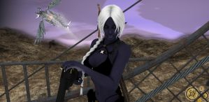 Steam Age Drow by grillghod