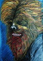 Wolfman by DustyPaintbrush