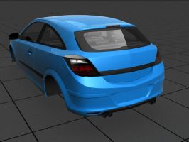 Opel Astra Exhaust by prox3h