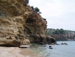 Rocks of Livadi beach, Thasos, Greece 2014 by kate44
