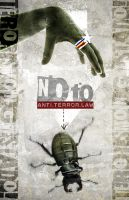 no to anti-terror law by klutosis