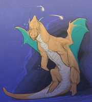 Dragonite by Tashphlosion