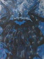 alex ross Batman by FluffyWho