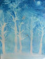 Moon Trees by art-is-my-air
