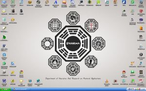 my desktop - dharma by ibx93