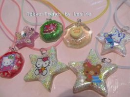 sparkle necklaces 2 by Tokyo-Trends